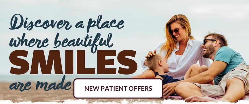 Discover a place where beautiful smiles are made - View our new patient offers